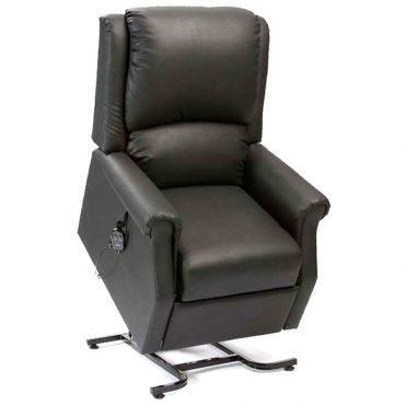 vinyl single motor riser recliner